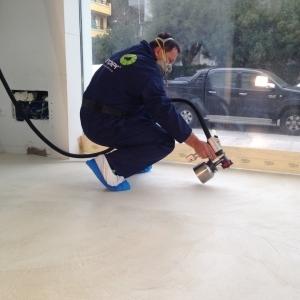 05 - pavimento microcemento - Hotel Riccione