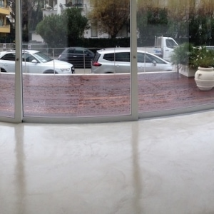 10 - pavimento microcemento - Hotel Riccione