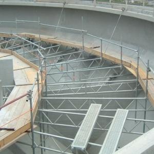 Impermeabilizzazione impianto di depurazione - Genova