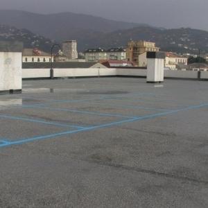 Impermeabilizzazione parcheggio pubblico - Savona