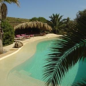 Rivestimento piscina villa privata - Pantelleria