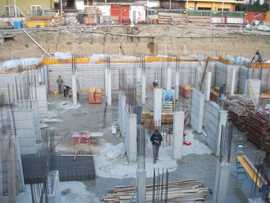 impermeabilizzazione di fondazioni